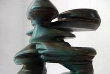 Sculptures, Statues  and Carved Art / Sculptures and Carved items are a wonderful 3 D form of Art which is often very tactile which adds another facet to these pieces. / by Ann Leadley