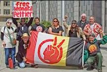 FREE Leonard Peltier / I lead an own official LPDOC (Leonard Peltier Defense Offence Committee) Chapter for Bavaria/Germany / by Wolfgang Schäfer