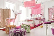 The New Digs: 'Tween Bedroom / To convince my (skeptical) daughter that furniture and accessories really can make a white room look colourful.... / by April Kilfoyle