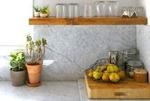 Kitchen / Kitchens and kitchen details that make me go mmmmm. / by Bella Puzzles