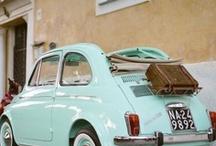 Sweet rides / my soft spot for vintage cars... / by Mignonne Handmade