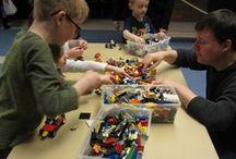|LIBRARY| LEGO Club / by Brittany Eastman