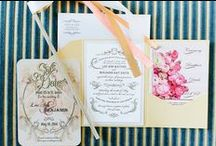Stationery and Design / by Wedding Friends
