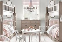 Girls' Bedroom Redo / by MH Lutz
