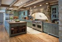 Home- Dream Homes:  Ideas for the Future / by Angela Borukhovich- BonusMomChef