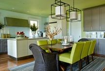 Colorful Kitchens / Add flavor to the walls in your kitchen with paint color! / by PPG Voice of Color