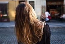 Balayage  / Blonde, brunette, honey to caramel - hair color painted to perfection.  / by MATRIX