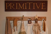 All Things Primitive  / Ideas for Primitive Decorating for everyday as well as Holidays. Furniture ideas and ect  / by Miranda Holman