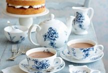 Tea Time: Ideas and Decor / Menus, High Teas, table decor, tea pots, and more! / by Miranda Holman