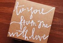 For Others <3 / Giving, gift ideas / by Janine Shaffer