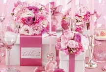 Tablescapes/Centerpieces/Swag / Because a table/party just isn't the same without them! / by Becky Kent
