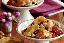 Bread Pudding / Savory and Sweet Bread Pudding / by Diane Nichols