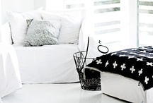 Black and White Interiors / by Lee Caroline  - A World of Inspiration