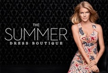 2013 Summer Dress Boutique / Exotic prints, exclusive details, and a fiery color palette.  / by Soma Intimates