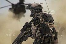 Armor and weapons / by Takafumi Nakagawa