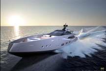 Yachts / Marvellous boats ◦ yachts ◦ watercrafts ◦ concepts and incredible design / by Dany Novykov