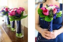 WEDDINGS... Pink & Navy / by SIMPLE WISHES - Cindy Norman
