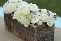 WEDDINGS... Rustic / by SIMPLE WISHES - Cindy Norman
