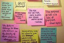 Me: Words / by Katlynn Moulton