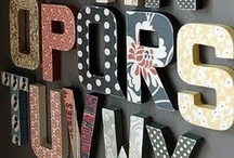 ABC wall / by Rebecca Parker