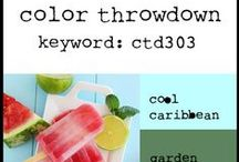 Color Throwdown - 2014 / by Broni Holcombe