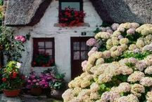 Cottages,Houses,Barns,Doors,Windows,Verandahs,Stairs,etc / by Annie