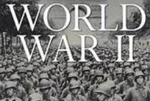 "History - 1939-1945 World War II - / World War 2 ""started"" on the 3rd of September, when Britain declared war on Germany (they had a treaty with Poland). The war ended in early May 1945 in Europe, Hitler having committed suicide in April of that year. The war in Japan ended after their surrender to the Americans in response to the A-bombs dropped on Hiroshima and Nagasaki -respectively the 6th and 9th of August 1945 / by Helen Ackley"