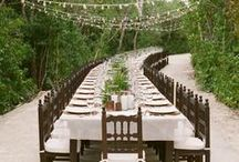 Cute Long Tables / All types of long tables for your wedding.  / by Trendy Bride