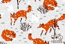 prints charming / patterns, prints, illustrations / by Emily Jakubisin