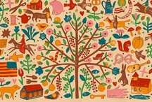 FoLk ArT fOr FuN / Folk art has been my focus in my art for over 25 years and I am just crazy about the invention and delight that Folk Art Gives !