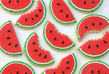 Ideas - Watermelon Themed Party / I've noticed a lot of watermelon flavored beverages and stuff so I figured that a watermelon themed party would be a super cute idea. / by Orange Moon Events & Planning