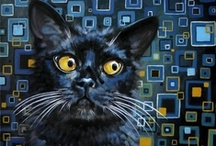 Black Cats Everywhere / by Pat McCambridge
