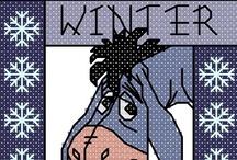 Cross Stitch - Winter / by May Jerzak