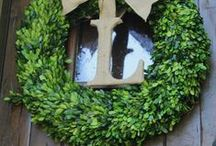 Wreaths / by Laura Lien