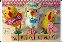 Easter Decorations / by Kimberly Kenward