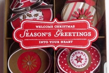 Card/Tag Boxes & containers / by Joelle Owl-Cat