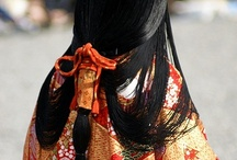 Asian fabric/kimonos / by Kathleen De Simone