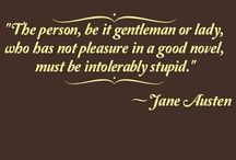 Jane Austen / by Kendal Stegmann