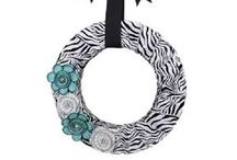 Fabric Wreaths / by Wreaths For Door (Laurie Karras)