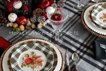 Dishes, Plain & Fancy / by Elaine SomeCallMeRed