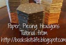 Hexagons, hexagons, hexagons / by Lisa H