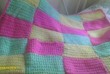 Crochet: Patchwork Blankets / by Paula Trescothick