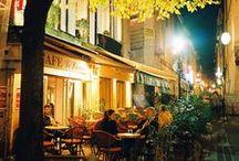 Cafe, Street Scenes / by Lisa Palmer
