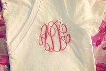 sewing & monogram love / by Katie Montgomery