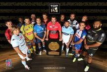 TOP 14 - Conférence de presse de rentrée (2014/2015) / Photo officielle des capitaines du #TOP14, #CONFTOP14 / by Ligue Nationale de Rugby - Officiel