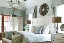 bedrooms / by Custom Slipcovers by Kristi