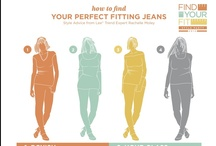 Find Your Perfect Fit / Fashion and beauty that is just right for you ... because everyBODY is different, so your clothes should be, too. / by Lee Jeans