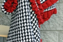 crocheting and knitting / by Sue Lee