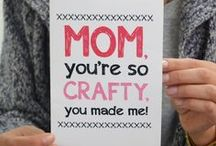Mother's Day / crafts, recipes, fashions, diy, cards, printables & more for MOMS / by ღ Jodi Shaw // rantsnrascals.com ⊱╮