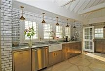 Celebrity Tiled Kitchens / Kitchen Tile inspiration from the stars. / by The Tile Shop